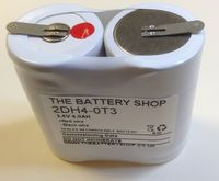 2DH4-0T3 Battery 2.4v 4.0Ah Ni-Cd From £5.83 EX VAT Buy Online from The Battery Shop